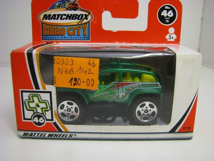 Buggy Beach 4x4 Matchbox Hero-City Box 97799
